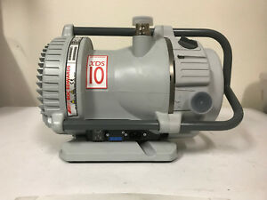 Boc Edwards Xds10 Dry Scroll Vacuum Pump Zero Run Hours