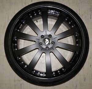 New set Of 4 Forgiato Rims 24 X 10 And Toyo Proxes Tires 275 30 24