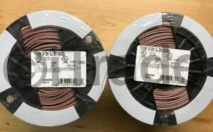 lot Of 2 Southwire 22962558 500 ft 14 awg Stranded Brown Copper Thhn Wire Roll