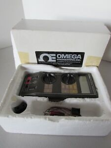 Omega 872a Digital Thermometer Type J Thermocouple Reader Made In The Usa
