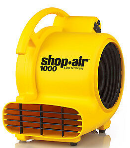 Shop Vac Corp 1030400 1000 Cfm Air Mover