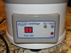 Premiere Xc 1000 Bench top Centrifuge 4000 Rpm
