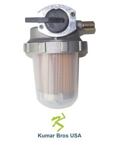 New Kubota Fuel Filter Assembly Mx4700 Mx5000 Mx5100