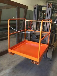 Man Cage Forklift Attachment