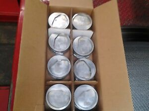 Big Block Ford 429 460 385 Series Arias 4 500 Dish Pistons W Pins