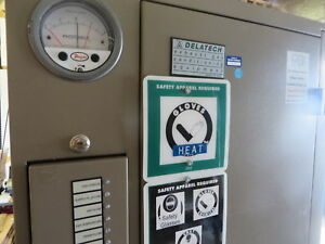 Delatech 859 Cdo Exhaust Gas Conditioning System Gas Scrubber Needs Repair