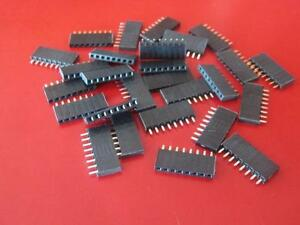 Samtec Ssw 108 01 t s Header Single Row 1x8 Pin Female Socket 8 Pins qty 100