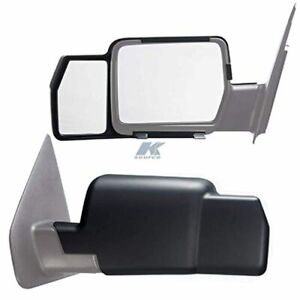 Fits 04 08 Ford F150 06 08 Mark Lt Snap On Tow Mirror Extensions Left