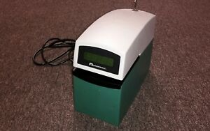Used Acroprint Etc Time Clock W Free Ink Ribbon Plates Dater Good Thru 2020