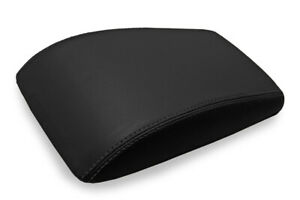Console Lid Bucket Seat Cover Leather For Buick Lacrosse 2005 2009 Black
