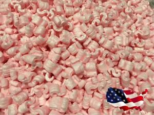 Packing Peanuts Shipping Anti Static Loose Fill 120 Gallons 16 Cubic Feet Pink