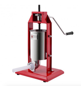 New 3l Sausage Stuffer Vertical Stainless Steel 3l Meat Filler