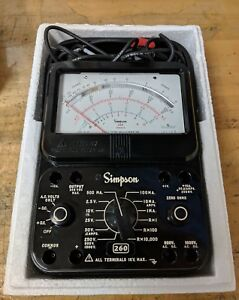 Simpson 260 Series 8 Vom New Free Shipping