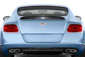 12 17 Bentley Continental Gt Af 1 Aero Function Body Kit wing spoiler 113737