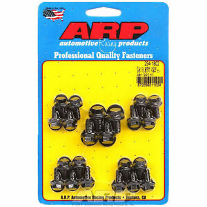 Arp 254 1802 Oil Pan Bolts Black Oxide Hex Head Ford Small Block Cleveland Kit