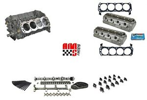 Ams Racing Street Strip Dart Sbf Ford 363 Stroker Assembled Long Block Cnc Heads