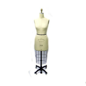 Fabulous Fit Female Size 8 2004 Pro Series Collapsible Dress Form With Stand