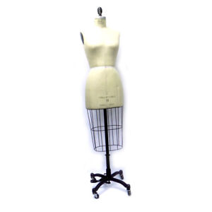 Global Model Forms Female Size 8 Model 2009 Collapsible Dress Form W Stand