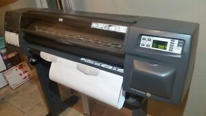 Hp Designjet 1050c Plus 36 Large format Plotter Printer Lightly Used