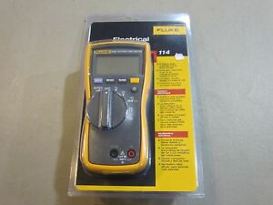 Fluke 114 Electrical Meter Brand New Sealed Free Shipping
