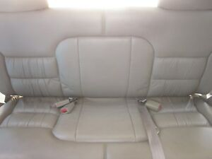 1992 1999 Chevrolet Suburban Tan Leather Third Row Seat Excellent Condition