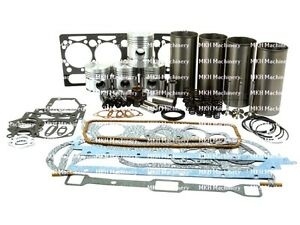 Engine Overhaul Kit For Massey Ferguson 65 Tractors A4 203 Engine With V t