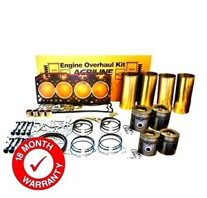 Engine Overhaul Kit Fits Jcb 506 36 525 58 525 67 530 110 530 120 530 95 Loadall