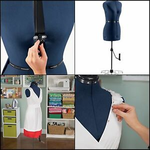 Singer Professional Adjustable Dress Form Women Mannequin Stand Sewing S M