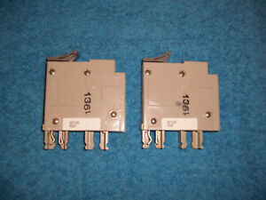 two Square D Trilliant Sdt120 1p 120v 20 Amp Circuit Breaker New Other