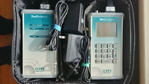 Scope Communications Wirescope 155 Dual Remote 155 With Case