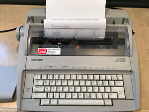 Brother Gx 6750 Typewriter Correctronic Works Perfect Tested Looks Great