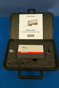 Mahr Federal Pocket Surf 3 surface Finish roughness tester profilometer Warranty