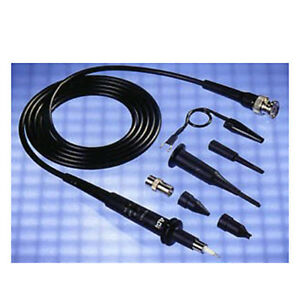 Avex 510 10 1 a 100 Mhz X10 Monolithic Oscilloscope Probe With Actuator Pin