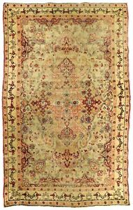 Antique Persian Kerman Rug 4 X 6 6
