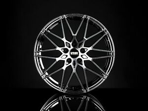 Vmr V801 19x8 5 9 5 5x112 Et35 Mercury Black Metallic Staggered Wheel Set