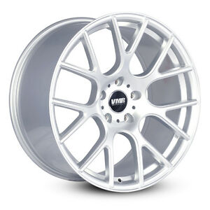 Vmr V810 19x8 5 5x112 Et45 Hyper Silver Flow Formed Wheels Rims