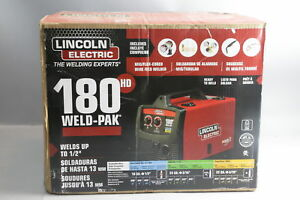 Lincoln Electric K2481 1 Pro mig 180 Mig flux Cored Wire Feed Core Welder