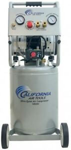 Electric Air Compressor 10 Gal 2 0 Hp Single Stage Ultra Quiet And Oil free
