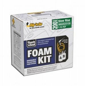 Dap 7565022120 Touch n Seal Slow Rise Spray Foam Insulation Kit 200