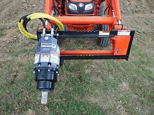 Kubota Tractor Attachment Danuser Ep 6 Hex Auger Drive Unit Ship 199