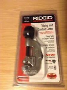 Ridgid 32915 10 Tubing And Conduit Cutter 1 8 1 Heavy Duty Wheel New