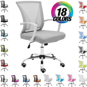 New Zuna Office Desk Chair Mid back Mesh Task Chair Adjustable Height