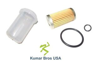 New Fuel Filter With O ring Bowl For Ford New Holland 1110 1210 1310 1510