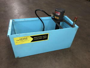 Little Giant Coolant Tank Pump 10 gallon Capacity With Gusher Pump M n 10g