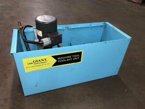 Little Giant Coolant Tank With Pump 10 gallon Capacity Gusher Pump 10g