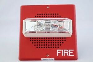 Siemens 500 636017 Strobe Ch mc r Fire Alarm Red Free 3 Day Shipping New