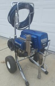 Graco Ultimate Mx Ii 695 Electric Airless Paint Sprayer