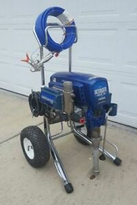 Graco Ultimate Mx Ii 1595 Electric Airless Paint Sprayer