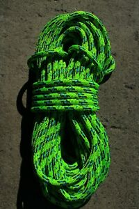 Sterling 24 Strand Arborist Rope Tree Climbing Line 7 16 X 89 Scion Green