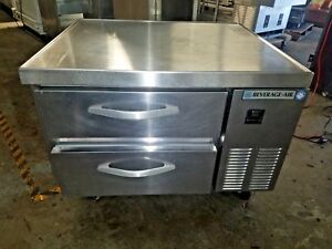 Beverage air Wtrcs36 1 36 Two Drawer Refrigerated Chef Base Equipment Stand